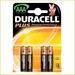Batteri AAA Duracell plus 4 stk.