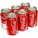 Coca Cola Dåse 6 pak x 33 cl