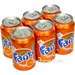 Fanta Orange Dåse 6 pak x 33 cl